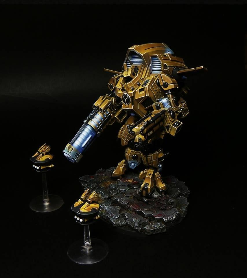 Tau Warhammer, Tau Battlesuit, Tau Empire