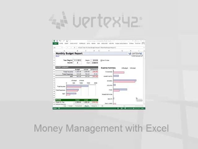 Free Money Management Template for Excel Project Organize Bill - google spreadsheet mortgage calculator