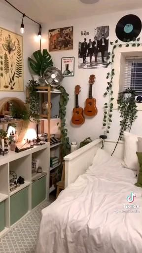 earthy aesthetic bedroom