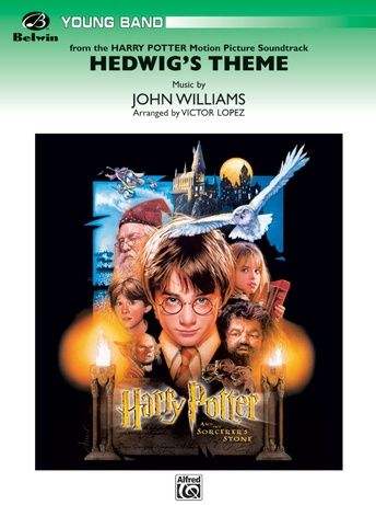 Hedwig S Theme From Harry Potter 1st B Flat Trumpet Harry Potter Soundtrack Harry Potter Music The Sorcerer S Stone