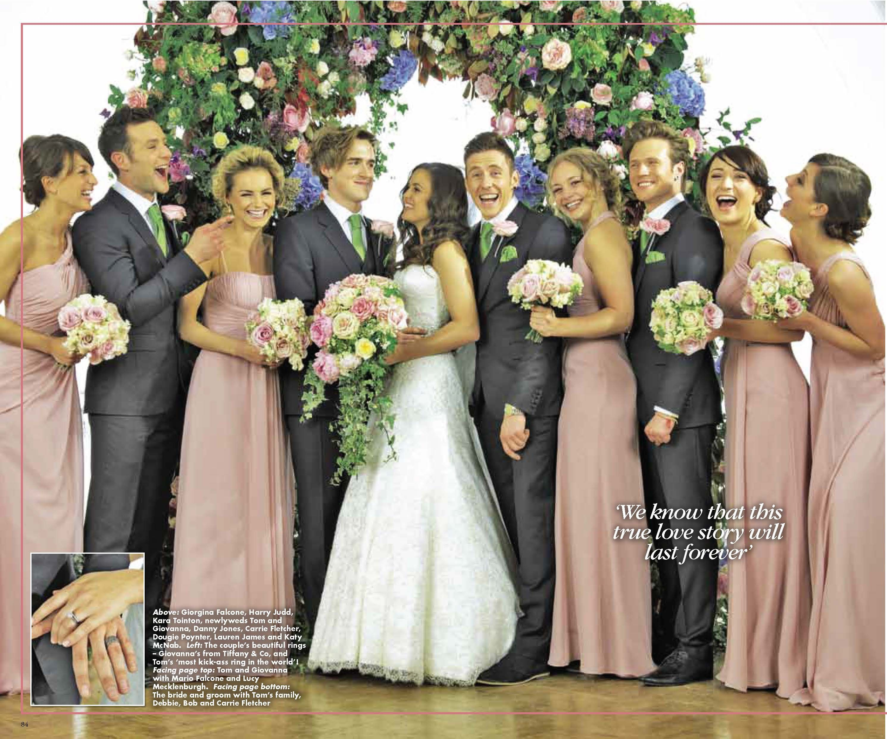 Giovanna S Kelsey Rose Bridesmaids Dusty Rose Wedding Colors