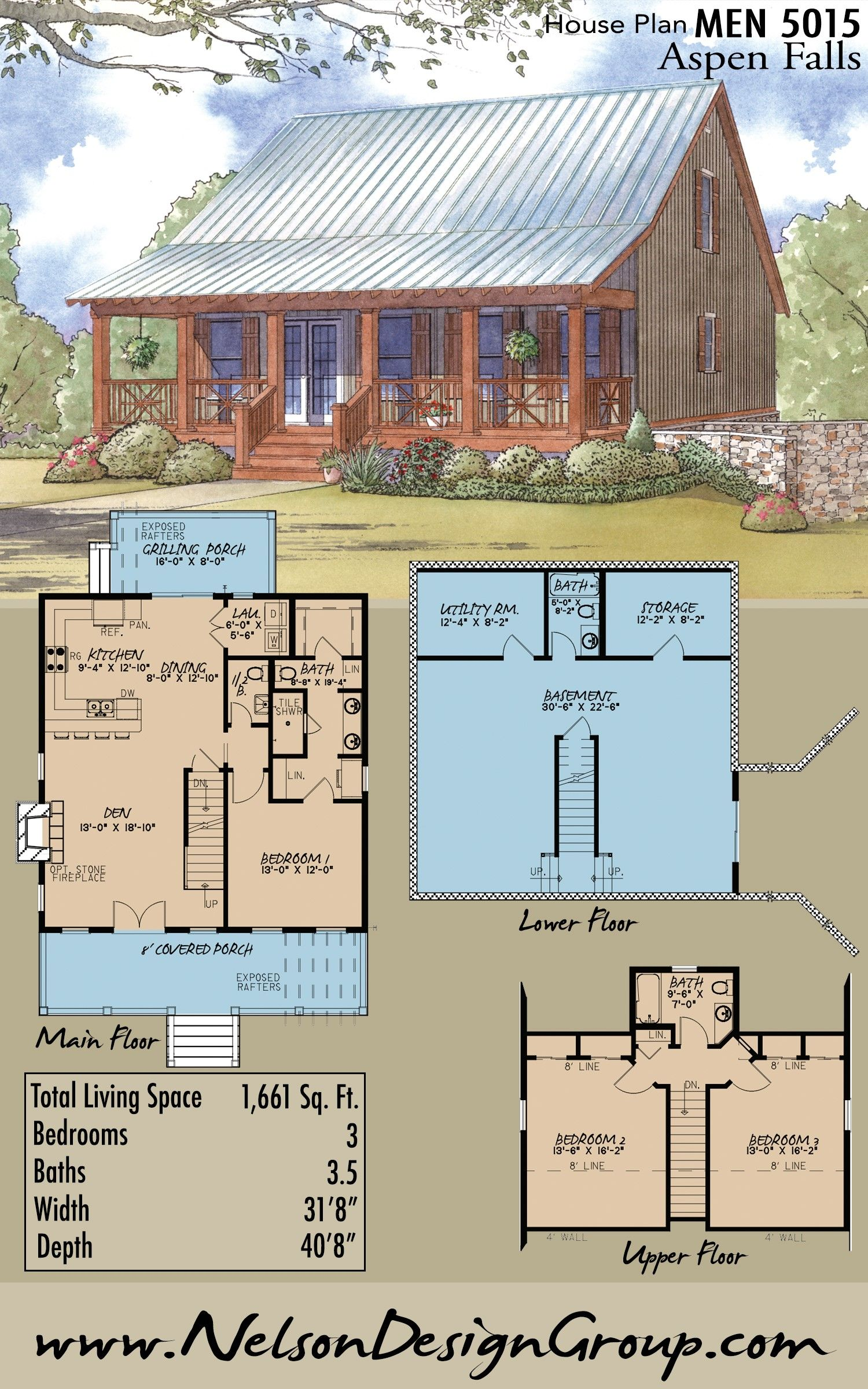 Houseplan Homeplan Homedesign Rustic Rusticstyle Cabin House Plan With Loft Log Cabin House Plans Beautiful Cabins