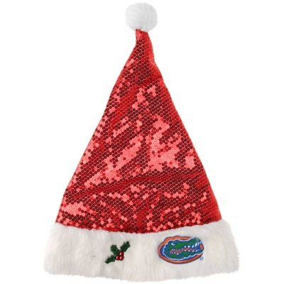 Florida Gators Sequined Santa Hat  6f70c36a3291