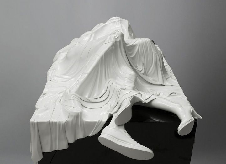 Poetic Veiled Sculptures Shrouded in Mystery - My Modern Met