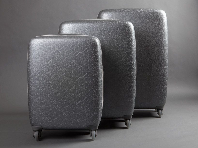 Fabbricapelleteriemilano Saint-Jacques suitcases collection by Marcel Wanders