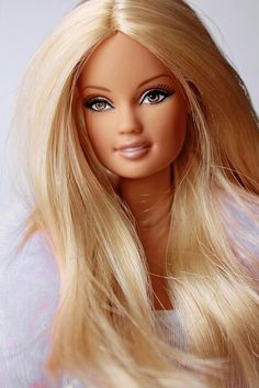 Barbie with long hair