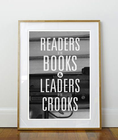Killer Mike Poster // Readers of the Books and Leaders of the Crooks ...