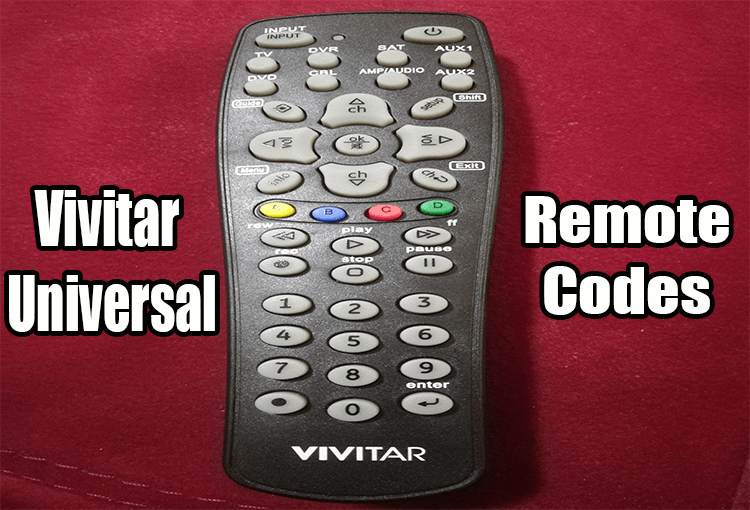 Vivitar Universal Remote Codes And Program Instructions Remote Coding Universal
