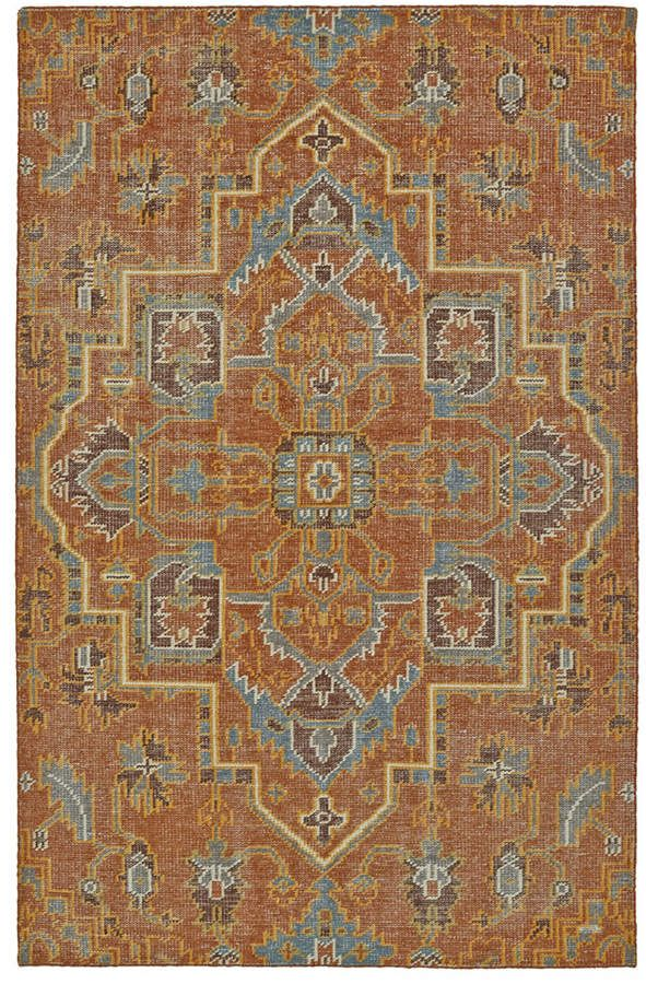 Kaleen Relic Rlc01 53 Paprika 4 X 6 Area Rug In 2020 Area Rugs