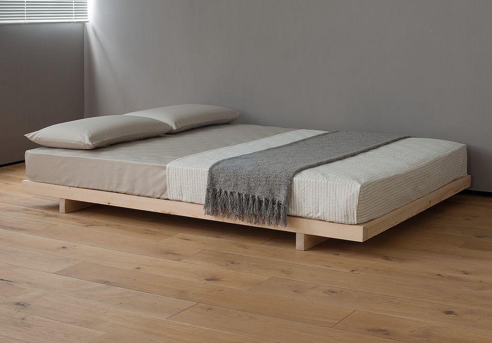 Kobe Japanese Bed With Headboard Platform Bed Designs Bed