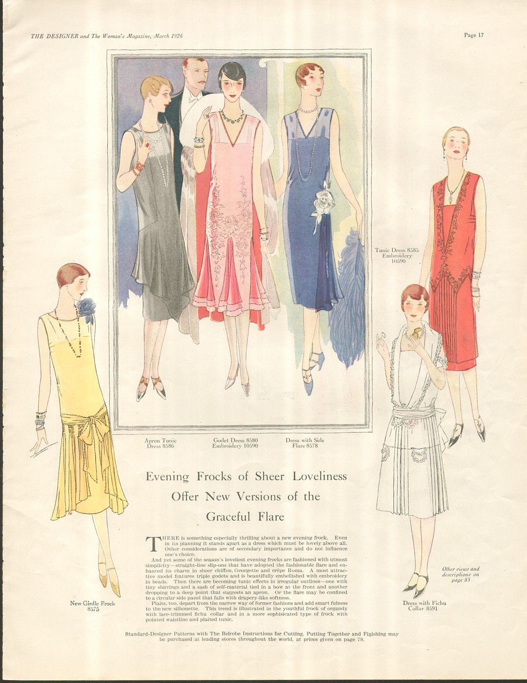 Used As Inspiration For Yet Another Apron Fashion Art Illustration Art Deco Fashion Vintage Art Deco