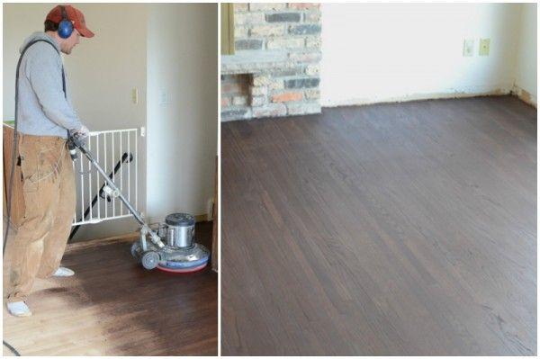 Remodelaholic Remodeled Kitchen With Refinished Hardwood Floors Hardwood Floors Flooring Refinishing Hardwood Floors