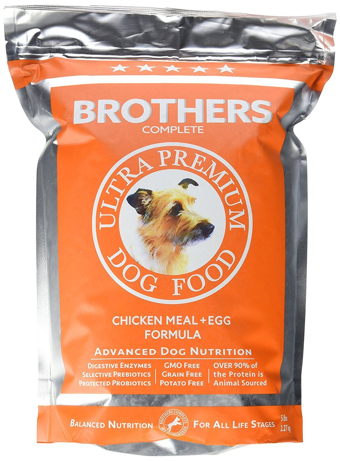 Brothers complete advanced allergy care chicken meal and