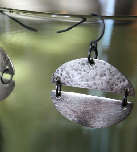 Ellipse Sterling Silver Earrings | Jewelry Earrings | the Quiet Woods | Scoutmob Shoppe | Product Detail
