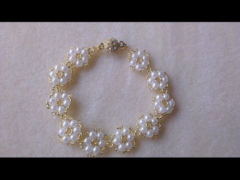 30fc716f280c Manualidades  PULSERA con perlas fácil Bisutería DIY ♥ Sor Amparo Arredondo  R. - YouTube