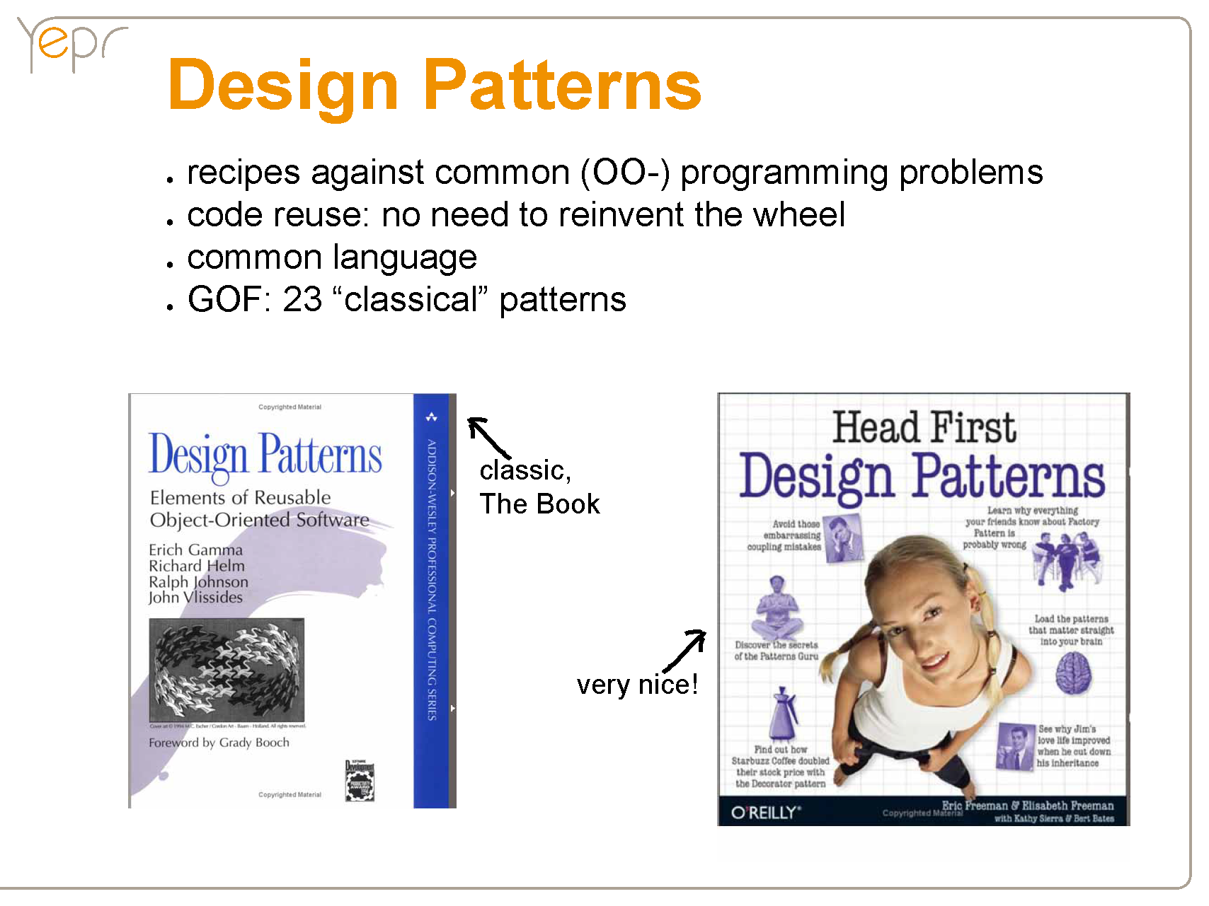 Design Patterns Explained Simply Pattern Design One Design Pattern
