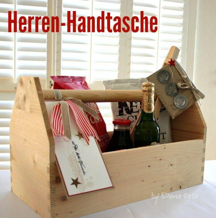 herren handtasche f r den vatertag ein pers nliches und selbstgemachtes geschenk zum vatertag. Black Bedroom Furniture Sets. Home Design Ideas