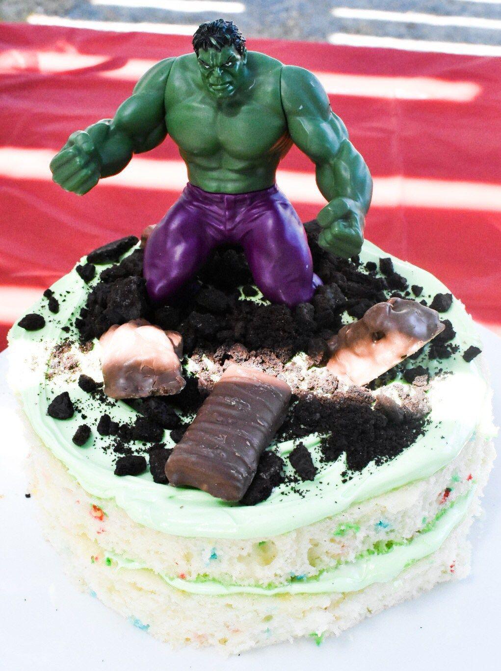 Diy hulk birthday cake hulk birthday cakes hulk