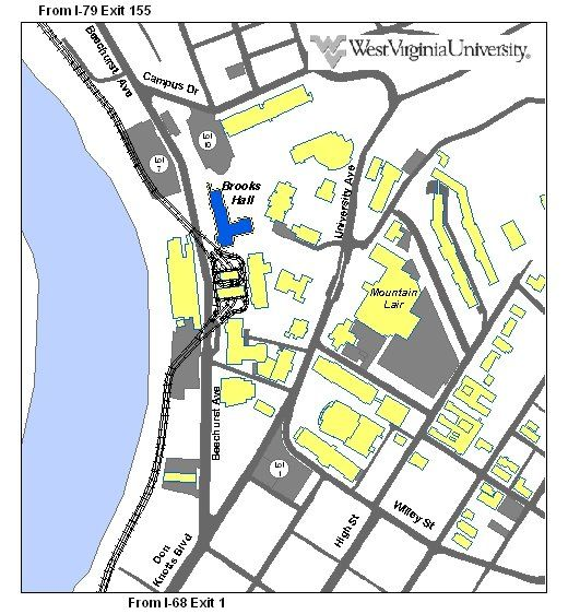 Downtown Campus Map Wvu.Campus Map 3 Wvu Campus Map West Virginia University