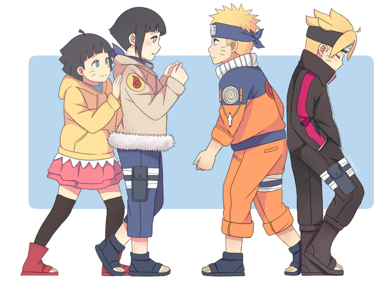 Was Naruto and hinata meets parents