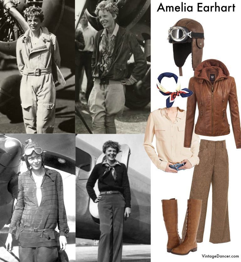 Did Women Wear Pants In The 1920s Yes Sort Of In 2020 1920s Outfits Amelia Earhart Costume Aviator Costume