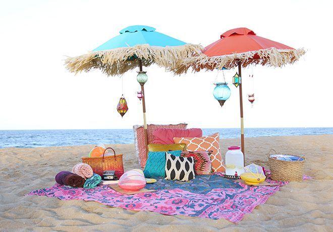 ❤ Picnics boho style www.turistacidental.com
