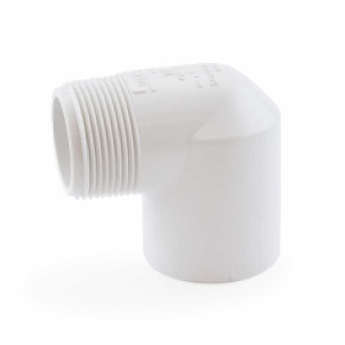 1 1 4 Pvc Sch 40 Socket X Mip 90 Elbow Pvc Fittings Pvc Sockets