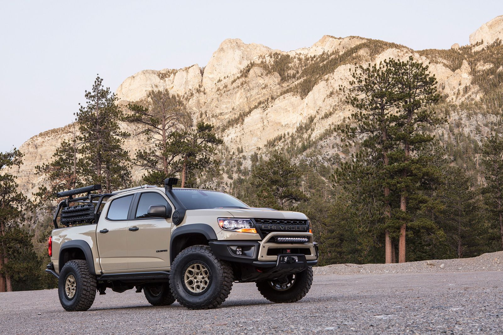 Chevy Colorado Zr2 Bison Headed For Chevrolet Colorado