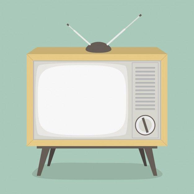 diseno de television vintage vector gratis 広告デザイン ヴィンテージのテレビ デザイン