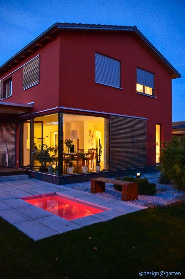 rotes haus tauchbecken minipool garden design ideas. Black Bedroom Furniture Sets. Home Design Ideas