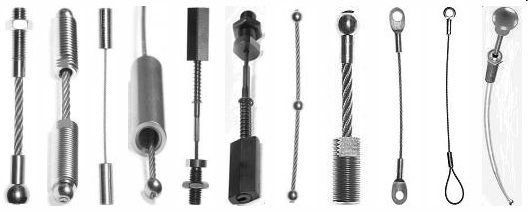 Wire rope assemblies by The Cable Connection http ...