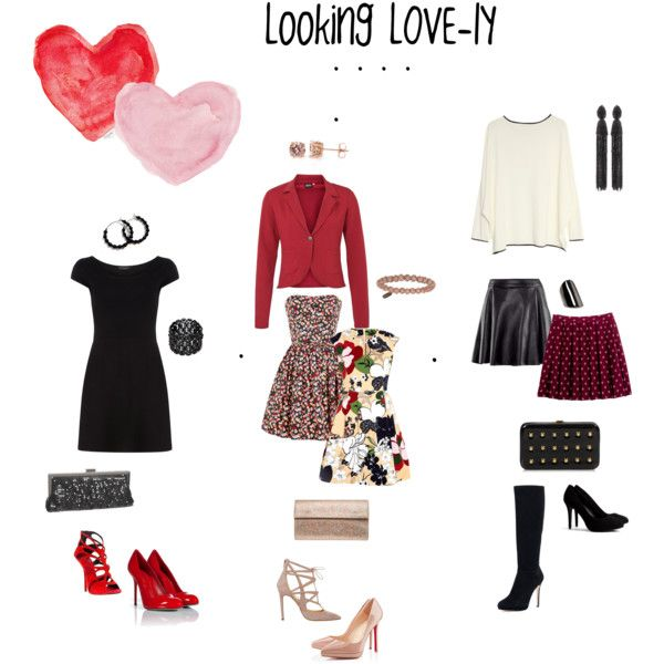 """""""Valentines Day Wear"""" by pinkpagodastyle on Polyvore"""