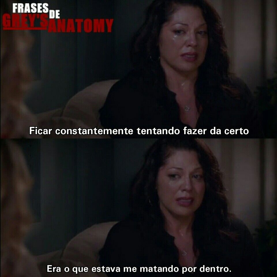 Greys Anatomy Callie E Arizona Trecho Frases Séries