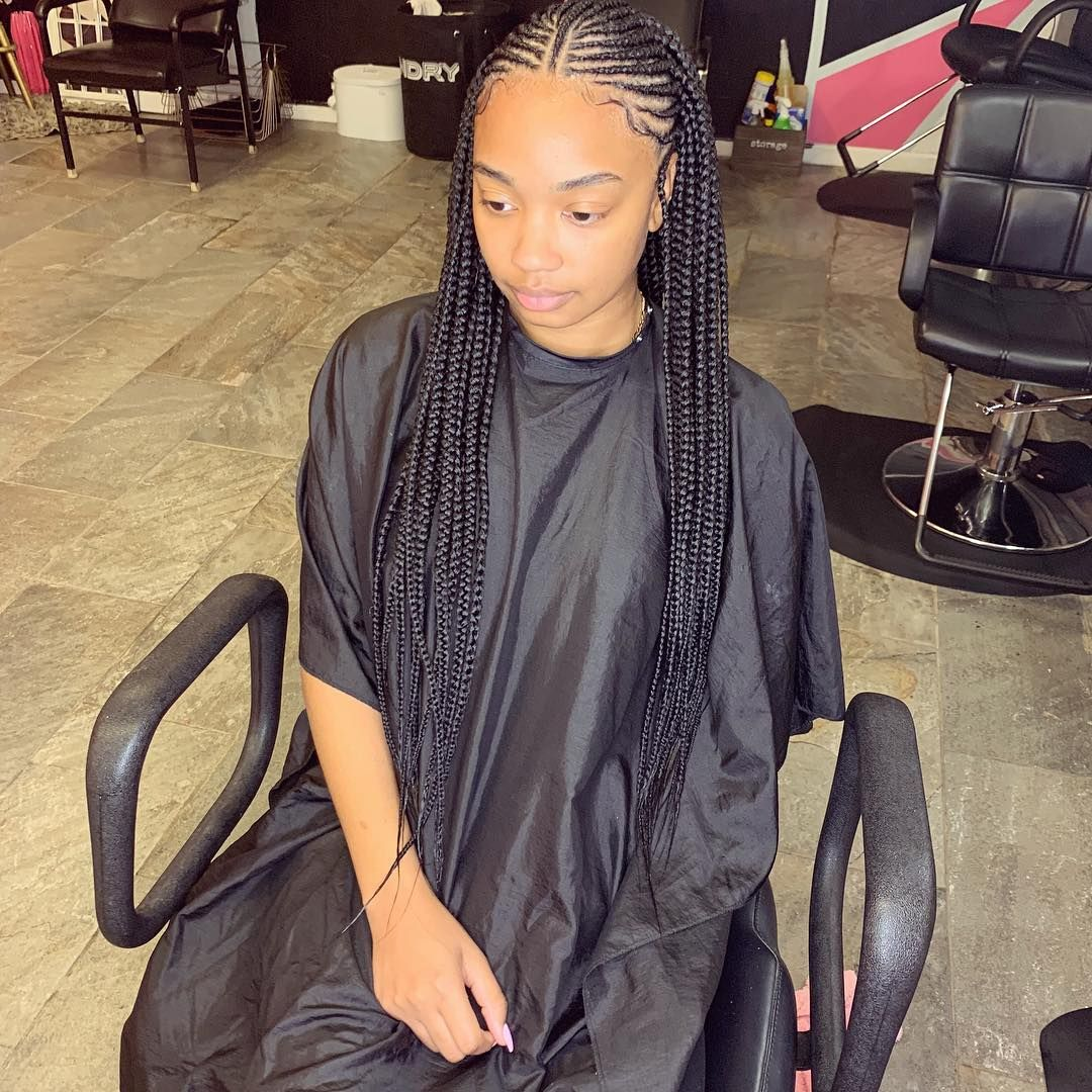 Youniquely Styled On Instagram 2 Layers For The Win Younique Black Girl Braided Hairstyles Cornrow Hairstyles African Hair Braiding Styles