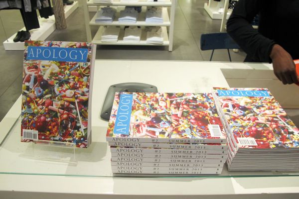 No Apologies Needed: 'Apology' Magazine Launch at agnes b.