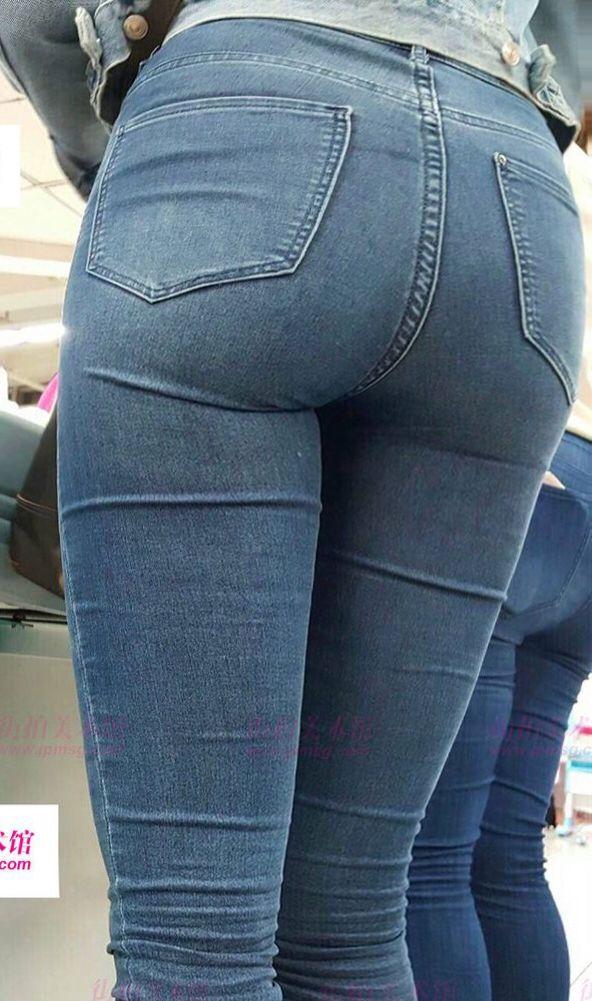 Culo de teen jeans blancos - 4 4