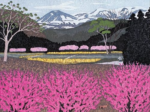Ohtsu: Flowers in Village - 500pc Jigsaw Puzzle by