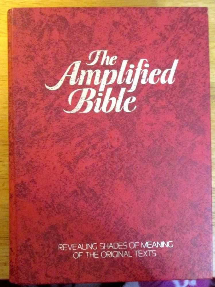 Amplified Bible GIANT PRINT 2008 by Zondervan Publishing House