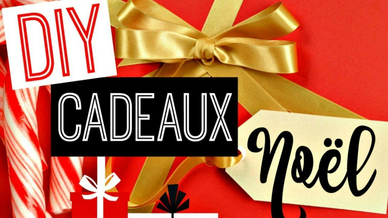 DIY Cadeaux de Noël Facile et Pas Cher ! (français