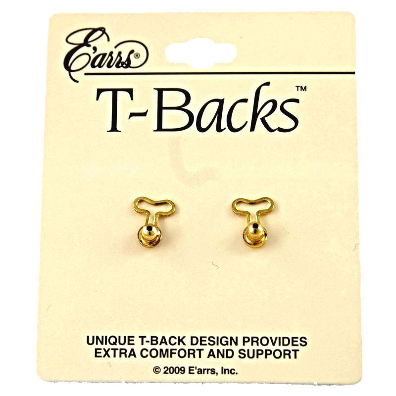 T Backs The Ilizer Replacement Earring For Earrings Which Would Normally Fall Forward Are Held In Upright Position
