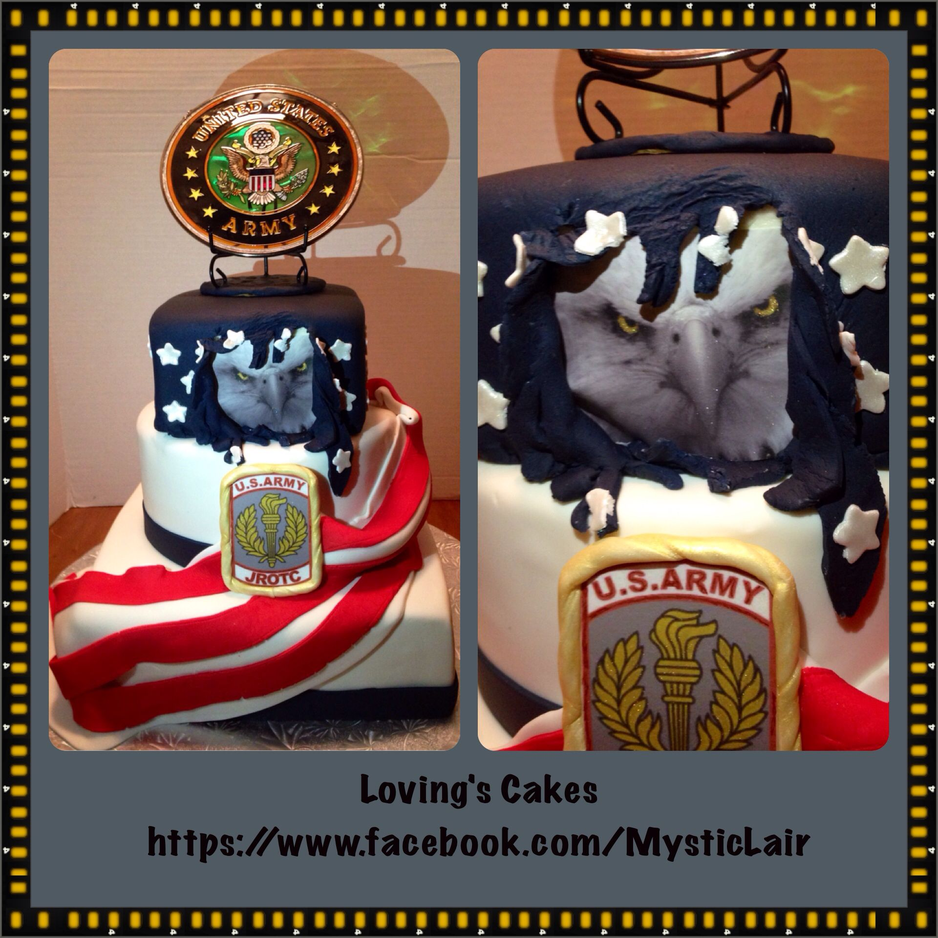 Military Ball Decorations: Army JROTC Cake Very Patriotic...