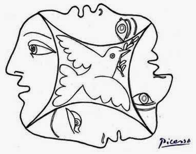 pintores famosos pablo picasso para nios cuadros para colorear caricaturas y fotos de