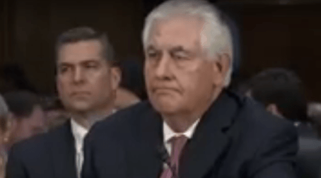 Rex Tillerson Tries To Reassure Senate Committee He Doesn't Love Russia