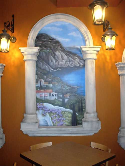 Airbrushed Wall Murals