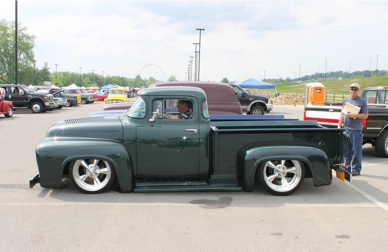 1956 Ford F100 Chop Top   Classic Trucks and Cars Photoshopped ...