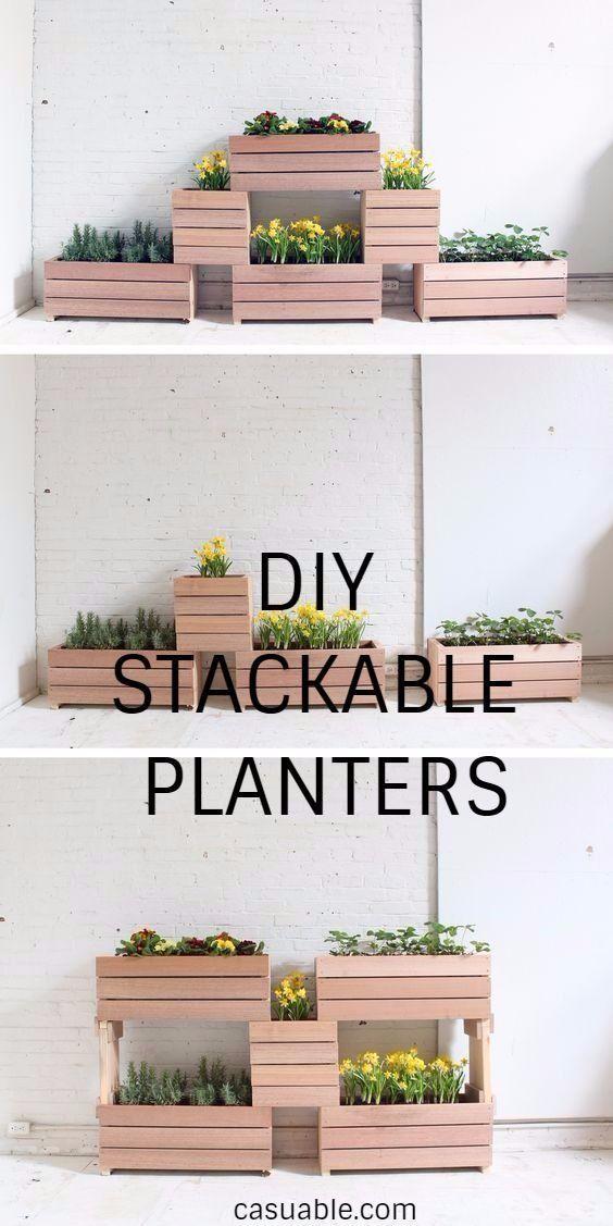 Diy Stackable Planters Stackable Planters 400 x 300