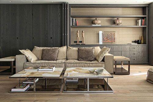 Moderne koloniale woonkamer | Interieur inrichting | Ideeën voor het ...