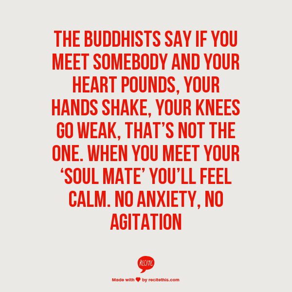 our connection and love was soothing and calm from the get-go. i ...