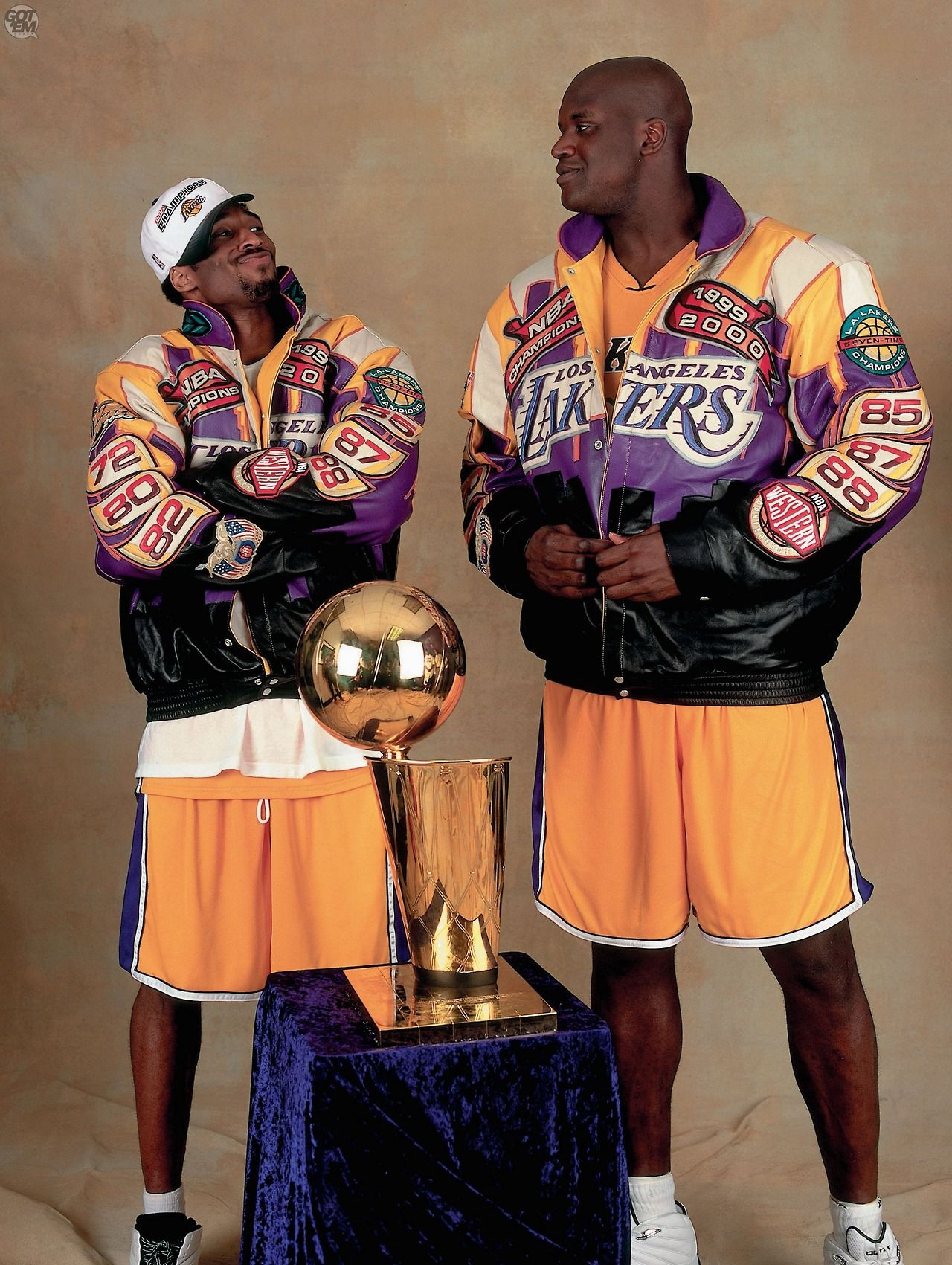 Gotemcoach Shaq And Kobe Shaquille O Neal Lakers Kobe