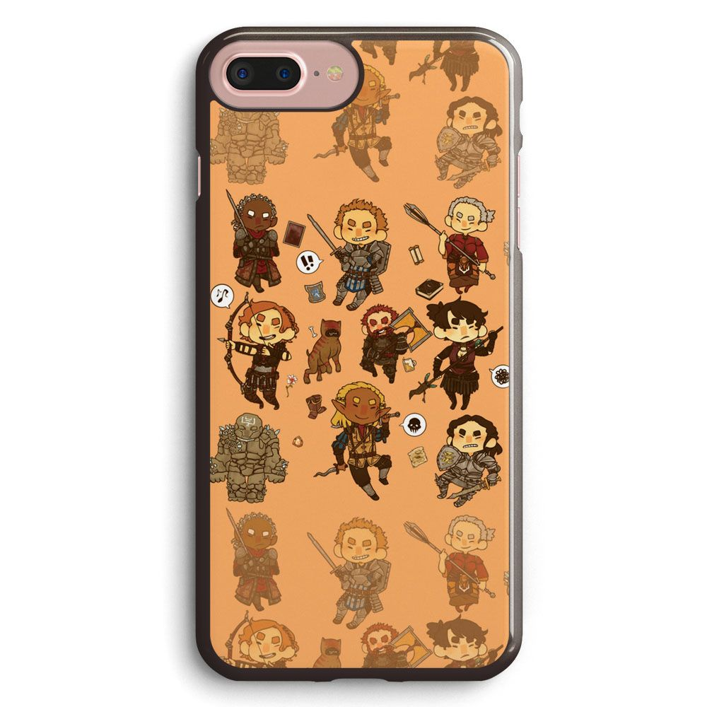 Dragon Age Party All Members iphone case
